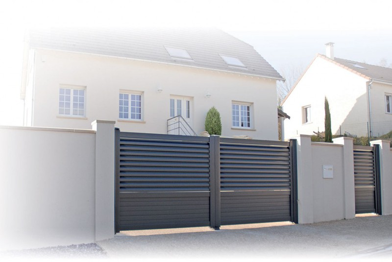 Groupeportal Vente Et Installation Portail Alu Electrique Battant